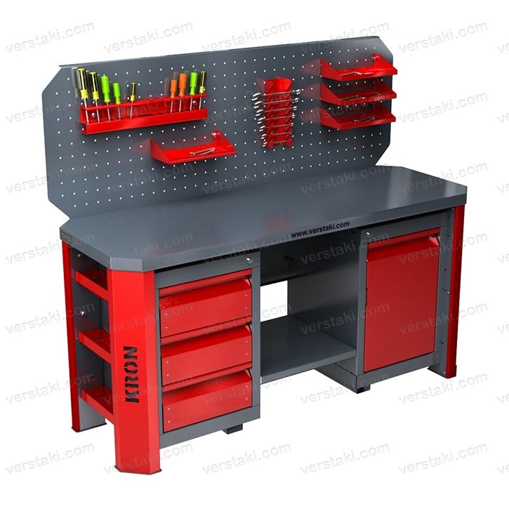 Металлические столы для ремонта оборудования