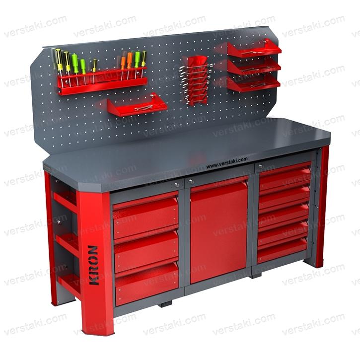 Рабочий стол для обработки изделий из металла