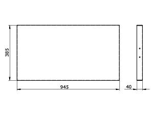 Чертеж внутренней полки с KV-S5.2