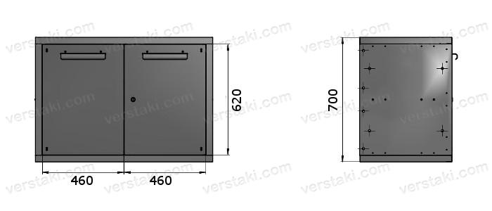 Тумба с девятью ящиками ТВС-3
