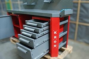 Выдвижные ящики слесарного верстака Гефест-ВС-105
