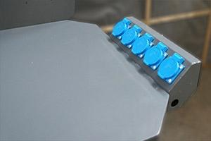 Блок розеток для подключения электрического оборудования