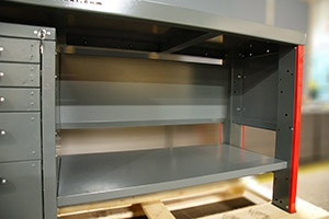 Полка для хранения оборудования на верстаке Гефест-ВС-4400-ЭП