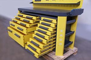 Фото Гефест-ВС-449-ЭПО+Р с открытыми ящиками