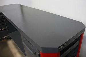 Фото рабочей поверхности верстака Гефест-ВС-5001