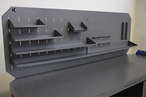 Экран с навесными полками на верстаке Гефест-ВС-509-ЭПБ
