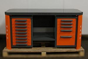 Двухтумбовый слесарный верстак Гефест-ВС-905