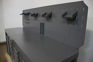 Фото рабочей поверхности верстака Гефест-ВС-9595-ЭП
