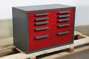 Металлическая тумба ТВС-6 для слесарного верстака