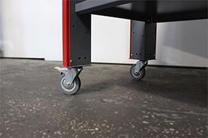 Фотография комплекта колес верстака серии Гефест