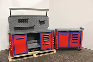 Фотография набора мебели серии Гефест-НМ-07 вид сбоку