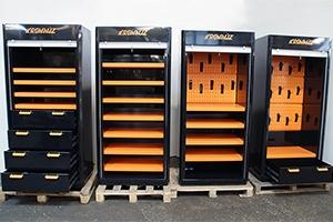 Набор шкафов серии KronVuz Box в открытом виде