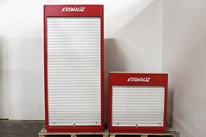 Набор шкафов серии KronVuz Box в закрытом виде