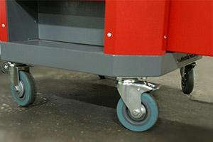 Фото колес для передвижения тележки Гефест-ТИ-06