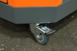 Фото колесика с тормозным механизмом тумбы УКС.ТИ-21