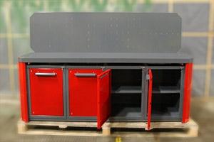 Тумбы верстак серии Гефест-ВС-1111 в открытом