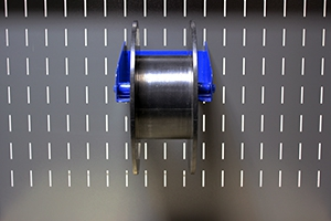 Фотография кронштейна крепления бобины