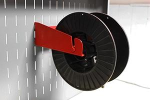Металлический держатель для бобины с кабелем