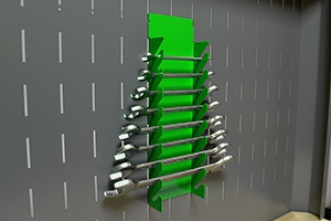 Фото держателя гаечных ключей вид сбоку