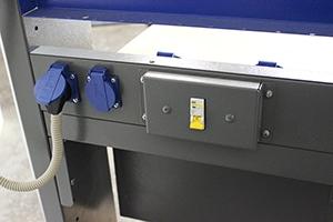 Автомат защиты на изделии KronVuz Pro 3103-SLDR