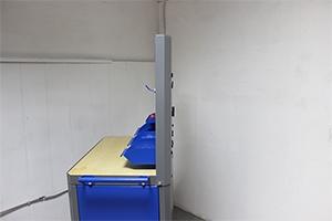 Экран навесной для тележки KronVuz KV P4-1 вид сбоку