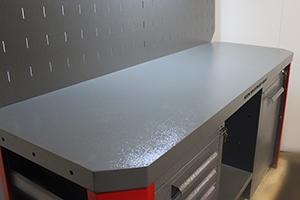 Фото рабочей поверхности верстака Гефест-ВС-501-ЭПО