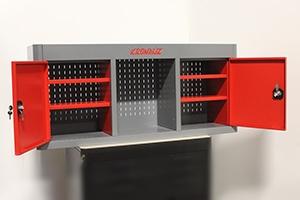 Фото навесного шкафа KronVuz Box-7042 в открытом виде