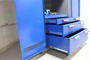 Выдвижные ящики инструментального шкафа серии KronVuz Box
