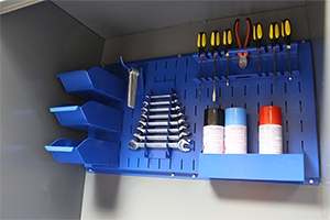 Перфорированный экран шкафа серии KronVuz Box