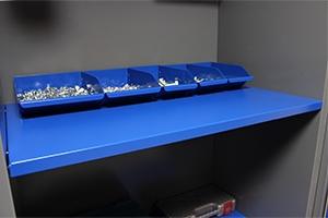 Навесная полка инструментального шкафа серии