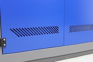 Вентеляционное отверствие инструментального шкафа