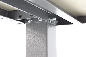Сборная-разборная конструкция слесарного стола