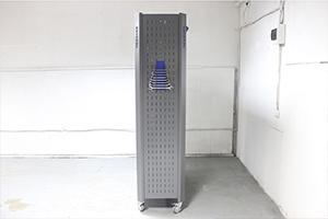 Стеллаж металлический KronVuz SH 12519 вид сбоку