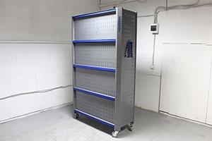 Стеллаж металлический KronVuz SH 12519 вид сзадиz