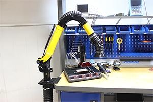 Вытяжное устройство для рабочего места KronVuz