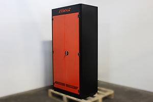 Шкаф для хранения инструмента серии KronVuz Box вид сбоку
