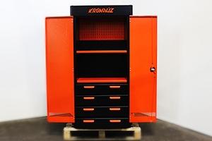 Шкаф для хранения инструмента KronVuz Box 1421 в открытом положении