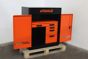 Шкаф KronVuz Box 2410-01 в открытом виде