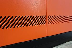 Вентиляционные отверстия инструментального шкафа