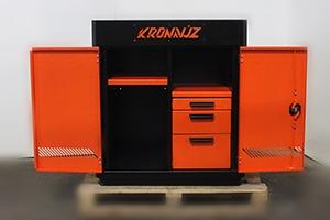 Шкаф KronVuz Box 2320-01 в открытом виде