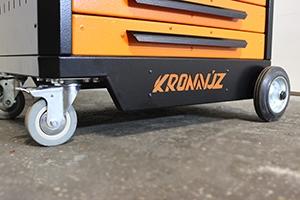 Фотография логотипа на тележке KronVuz TB 901