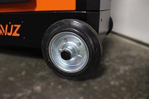 Фото неповоротных колес тележки KronVuz TB 901