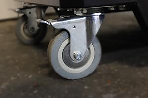 Поворотные колеса с тормозом тележки KronVuz TB 901