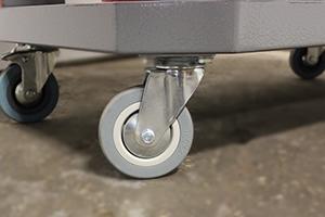 Фото колес тележки серии Гефест-ТИ-0