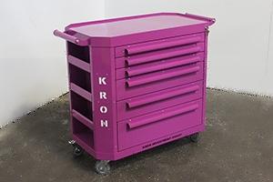 Фотография тележки Гефест-ТИ-6 фиолетового цвета
