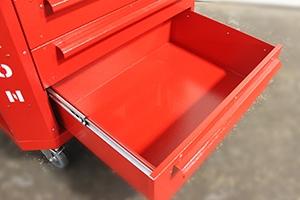 Фотография выдвижного ящика тележки Гефест-ТИ-6