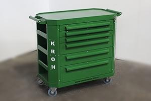 Фото инструментальной тележки Гефест-ТИ-6 (Зеленого цвета)
