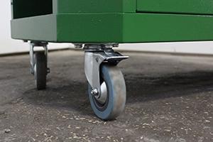 Фото колес инструментальной тележки Гефест-ТИ-6