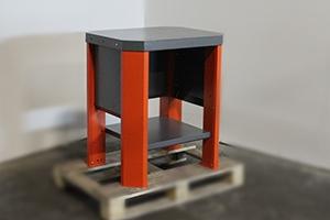 верстак Гефест-ВС-0 (серо-оранжевого цвета) общий вид
