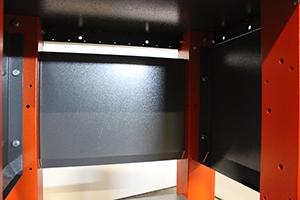 Фото крепления боковых стено вестака Гефест-ВС-0